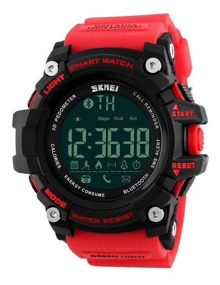 Reloj Inteligente Skmei 1227 Sumergible Bluetooth Podometro