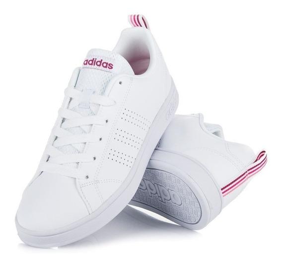 Tenis adidas Advantage Blanco/rosa