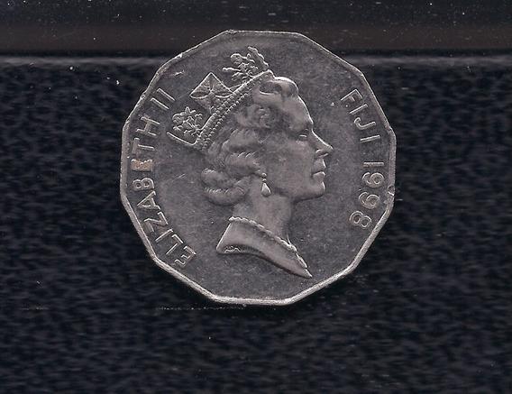 Moneda: Fiji, 50c De Dólar