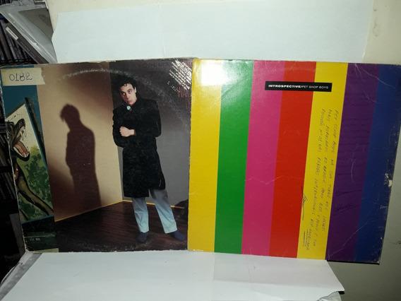 Lt 2lps Jules Shear Watch Dog/pet Shop Boys Introspective Ne