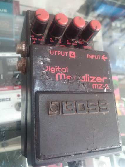 Pedal Para Guitarra Boss Digital Matalizer Mz2 Japonês Raro