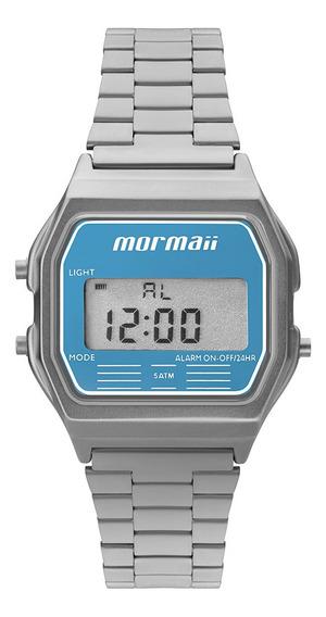Relógio Digital Mormaii Vintage Prata Mojh02az/3a