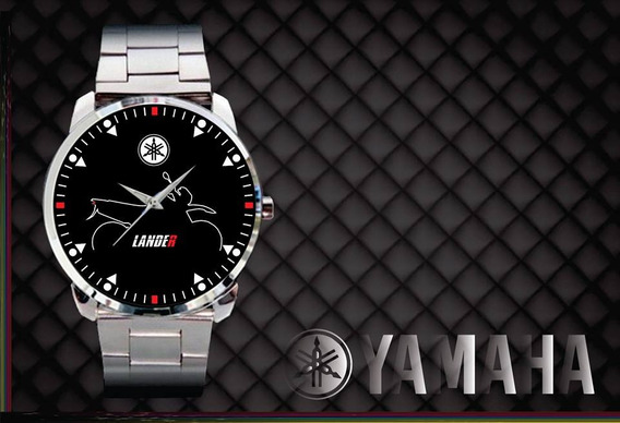 Relógio De Pulso Personalizado Moto Yamaha Lander Motard Top