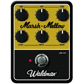Pedal Para Guitarra Waldman Distortion Marsh-mellow Mar-6fx