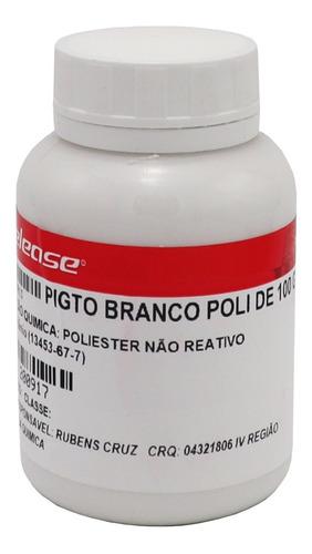 Pigmento Branco P Resinas Poliester Epoxi Artesanato E+ 100g