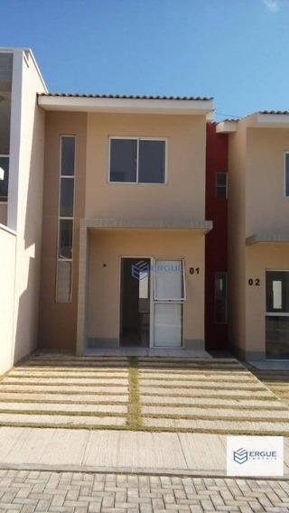 Casa Residencial À Venda, Messejana, Fortaleza. - Ca0010
