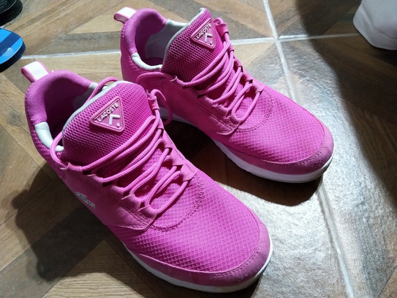 Zapatillas Lacoste Mujer Rosa 40