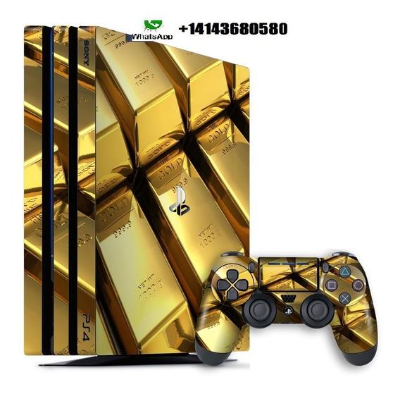 Console Playstation 4 Pro Novo Modelo Ps4 1tb 1 Tera Bytes