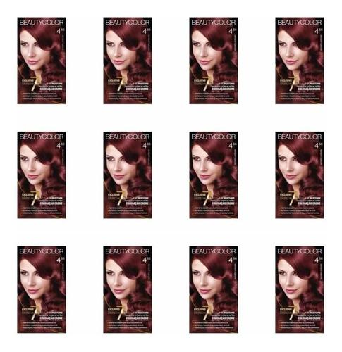 Beautycolor Tinta Kit 4.66 Vermelho Profundo (kit C/12)