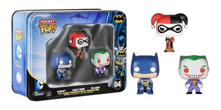 Funko Pocket Pop! Dc Comics Tin #04 3x1