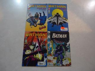 Lote De 4 Comics De Editorial Vid Batman