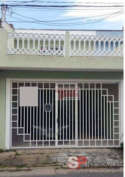 Sobrado Com 2 Dormitórios À Venda, 141 M² Por R$ 415.000,00 - Casa Branca - Santo André/sp - So0875