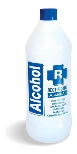 Alcohol Rectificado Ancap 1 Litro