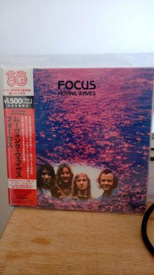 Cd Focus - Moving Waves ( Mini- Lp Japonês)