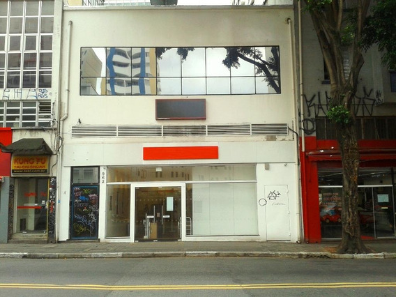 Loja Comercial Para Locação, Consolação, São Paulo - Lo0430. - Lo0430