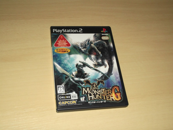 Ps2 - Monster Hunter G (japonês)
