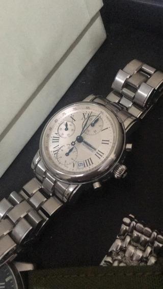 Relógio Montblanc Original Automático Chronograph De Luxo