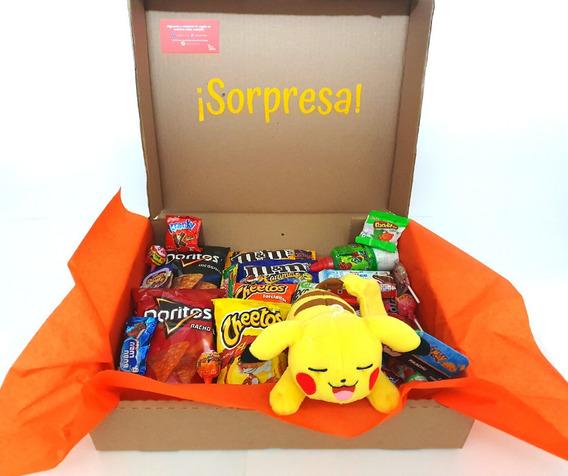 Arreglo De Dulces Candy Toybox Pikachu Dormido :3
