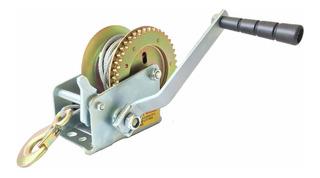 Malacate Manual 1400 Lbs 630 Kg Cable Gancho Doble Sentido Tiro. Bull Winch® Original. 12 Años En Argentina. Distribuido