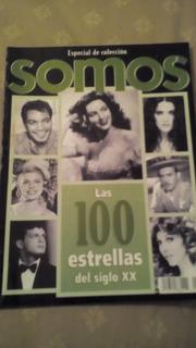 Cantinflas, Maria Felix Y Pedro Infante En Revista Somos
