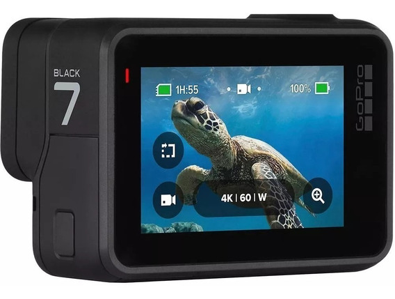 Câmera Digital Go Pro Hero 7 Black 32mp Wi-fi 4k