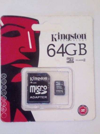Memoria Kingston Microsd 64gb 80mbs Micro Sd