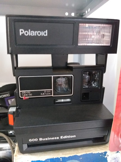 Câmera Fotográfica Polaroid 600 Business Edition (anos 80)