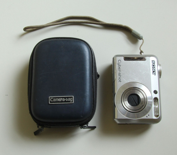 Câmera Sony Cybershot Dsc-s650 Com Defeito