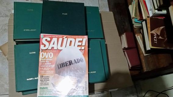 Lote Revista Saúde 111 Encadernadas Editora Abril E Azul