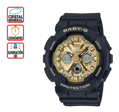 Reloj Casio Baby-g Life And Style Ba-130-1a3