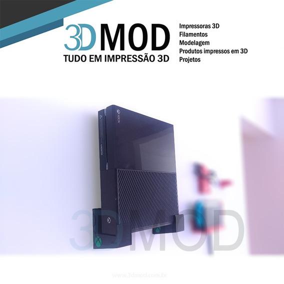 Suporte De Parede Xbox One Clássico - Exclusivo 3dmod