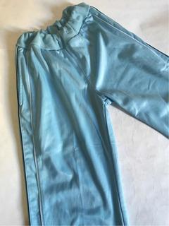Calça Ginástica Academia Flanelada Azul M