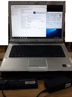 Hp Pavilion Dv6220la Win10 Turion Tl-50 1gb Detalleen Nvidia