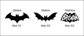 Calco Vinilo Autoadhesivo Sticker Batman Murcielago Dc Comic