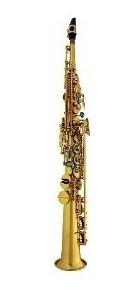 Saxo Soprano Ocean Oss390 Dorado Con Estuche Rd Music