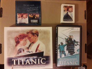 Titanic Edición Especial: Vhs+making Off+láminas+cartas+cd