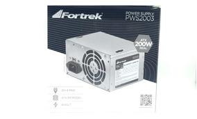 Fonte Fortrek Atx 450w Na Caixa - Promoção