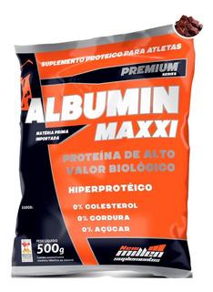 Albumin Maxxi (albumina) 500g - New Millen - Com Sabor