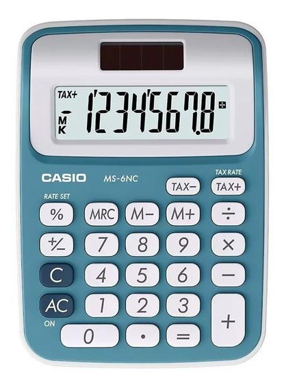 Calculadora De Escritorio Casio Ms-6nc Tienda Oficial