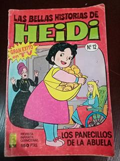 Las Bellas Historias De Heidi No.12 Ediciones B Año-1987