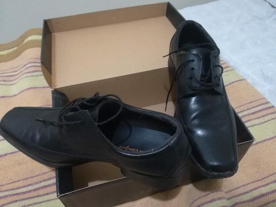 Zapatos Cuero Vestir Febo 41 Free Comfort