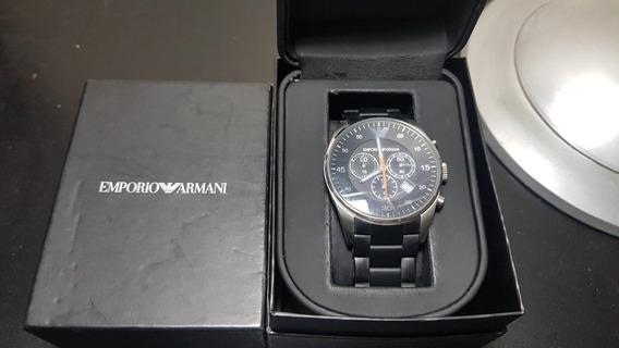 Relógio Emporio Armani Original Masculino Luxo Nota Fiscal