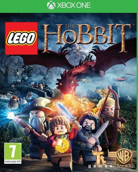 Jogo Lego The Hobbit Xbox One Xone Português Física Original