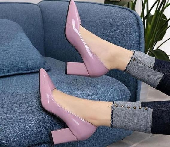 Sapato Feminino Aphixta 86952 Importado Frete Grátis