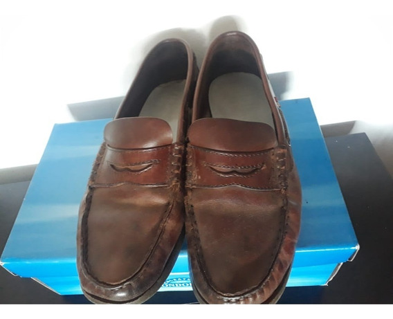 Boating Zapato Acordonado Color Marron Confort Hombre 42