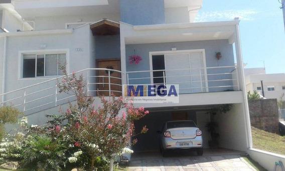 Casa Com 3 Dormitórios À Venda, 235 M² Por R$ 890.000 - Loteamento Residencial Santa Gertrudes - Valinhos/sp - Ca1350