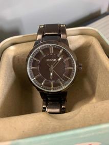Relógio Unisex Fóssil Acoinox Bronze Escuro