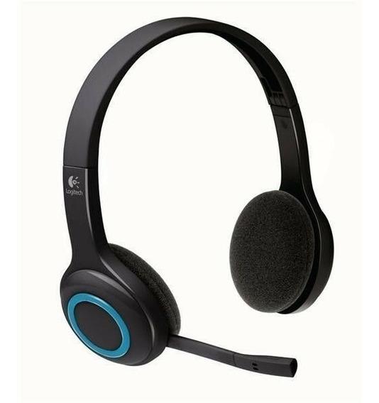 Fone De Ouvido Logitech H600 Wireless Com Microfone - Preto