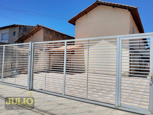 Imagem 1 de 18 de Sobrado Com 2 Dormitórios, 66 M² Por R$ 145.000 - Jardim Santa Eugênia - Mongaguá/sp - So0816