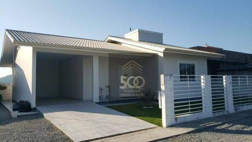 Casa Com 2 Dormitórios À Venda, 350 M² Por R$ 370.000,00 - Centro - Santo Amaro Da Imperatriz/sc - Ca0620